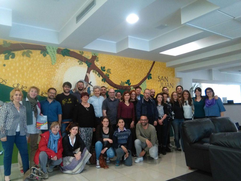 Comunità Professionale Europa Caritas Italiana (Roma, Maggio 2018)