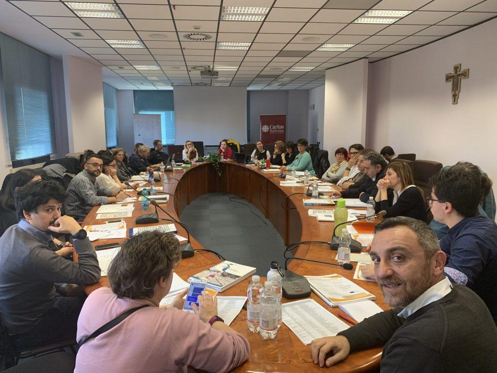 Comunità Professionale Europa Caritas Italiana (Roma, novembre 2019)