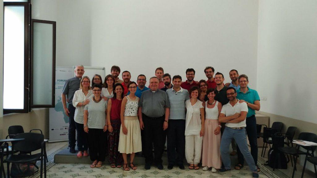 Comunità Professionale Formatori Caritas Italiana (Agrigento, luglio 2017)