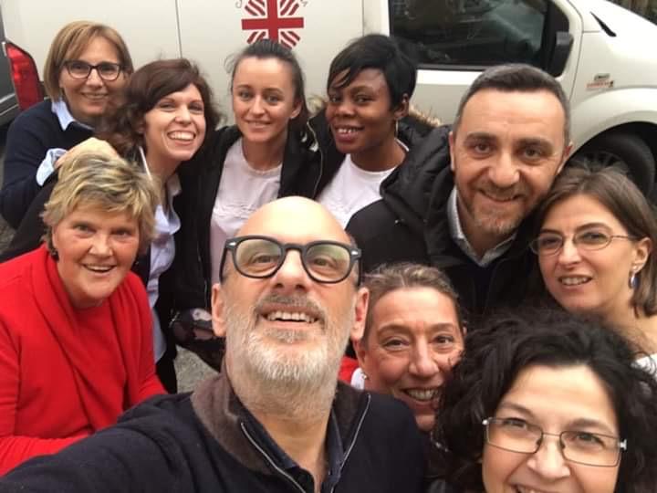 Catering Caritas Food 4 Life presso Casa Capon del Comune di Trieste (dicembre 2019)