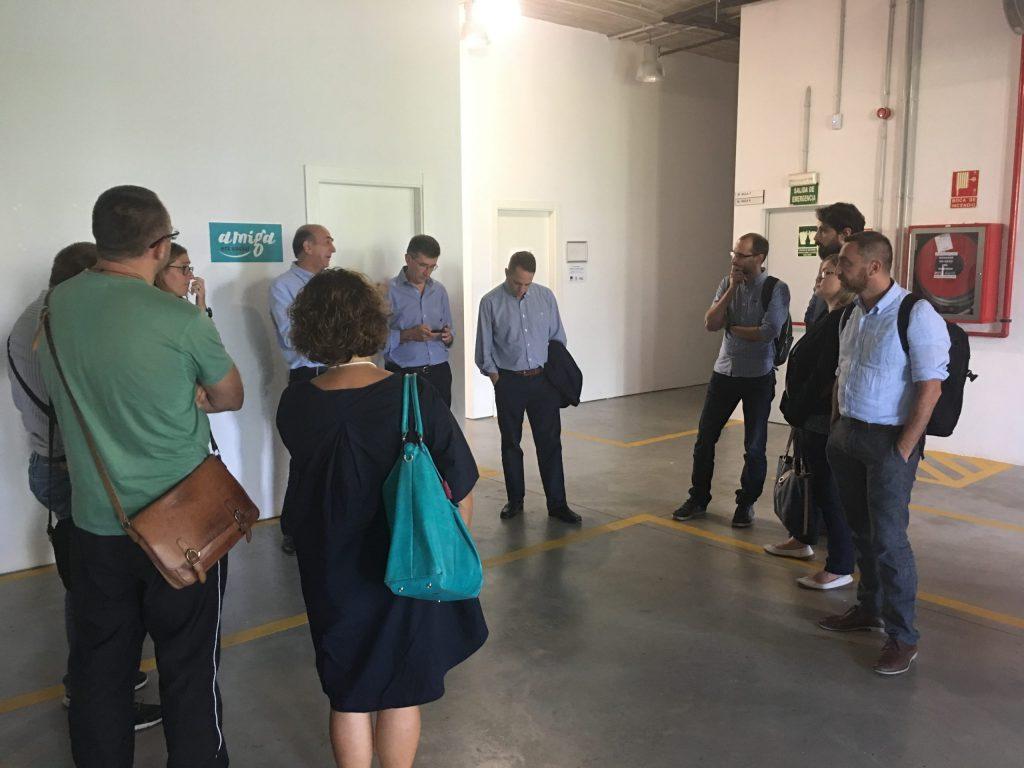 Caritas Europa Social Innovation Task Force - Study Visti (Barcellona, settembre 2016)