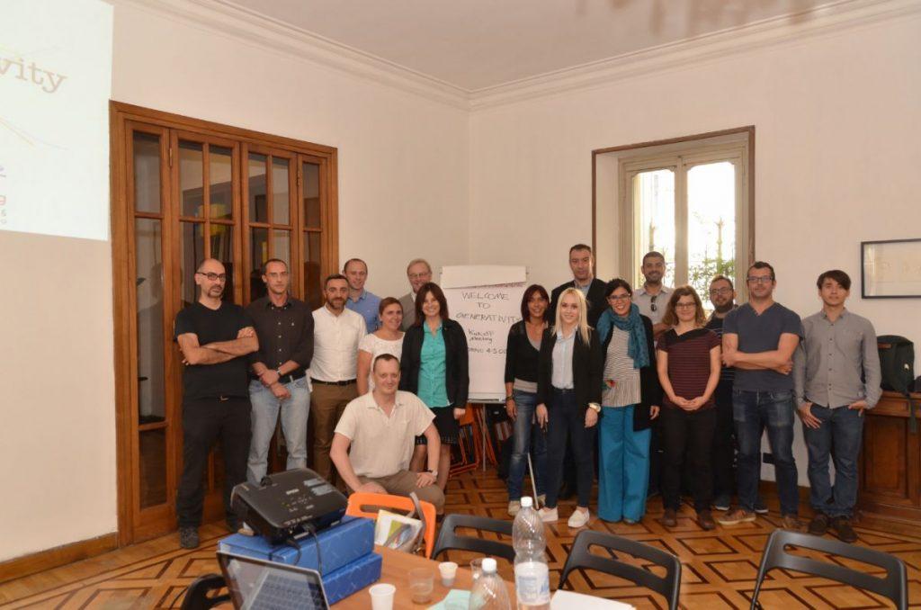 Progetto Erasmus+ Generativity - Kick off Meeting (Torino, ottobre 2016)