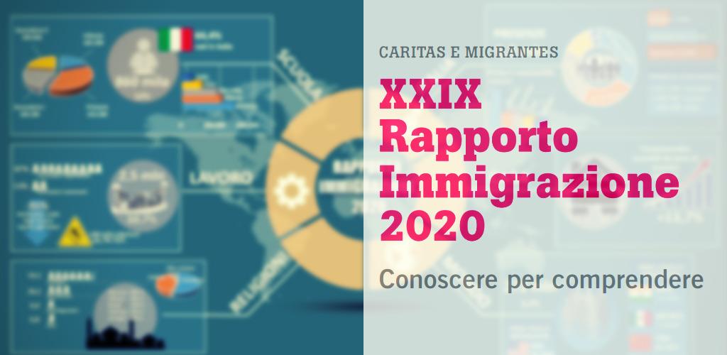 Rapporto Immigrazione 2020 di Caritas Migrantes